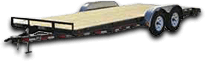 Shop Car Haulers & Equipment Trailers for sale at Clark Powersport Group in Hillsboro, WI
